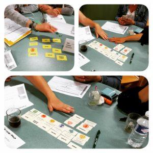 Exemple d'utilisation d'un jeu Memory en formation d'acteurs PRAP
